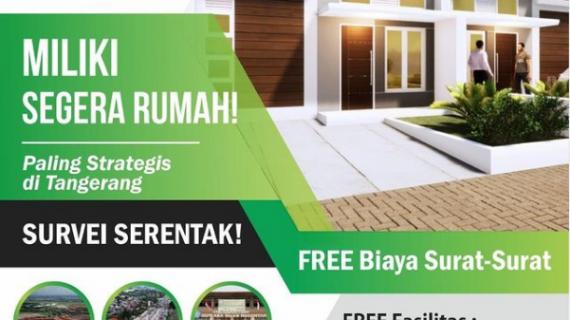 Rumah Dijual Tangerang Kota – DP Sangat Terjangkau